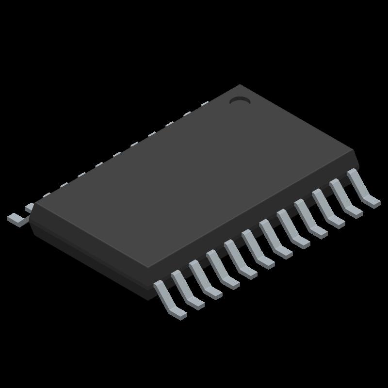 ADM3315EARUZ - Analog Devices - 3D model - Small Outline Packages - RU-24 (TSSOP)