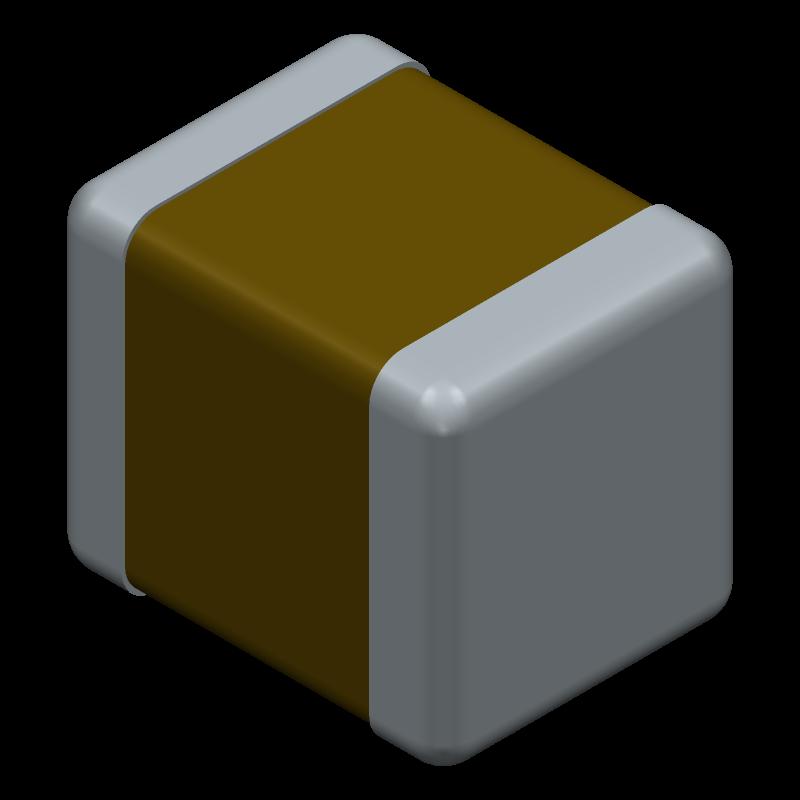 EMK325ABJ107MM-T - TAIYO YUDEN - 3D model - Capacitor Chip Non-polarised - EMK325ABJ107MM-T-1