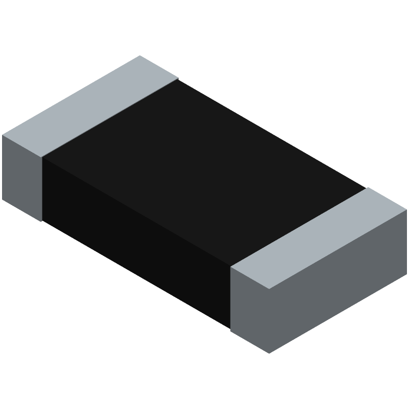 CRCW1206200RFKEAHP - Vishay - 3D model - Resistor Chip - CRCW1206HP