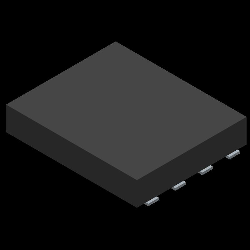 SI7852DP-T1-E3 - Vishay - 3D model - Other - SI7852DP-T1-E3-3
