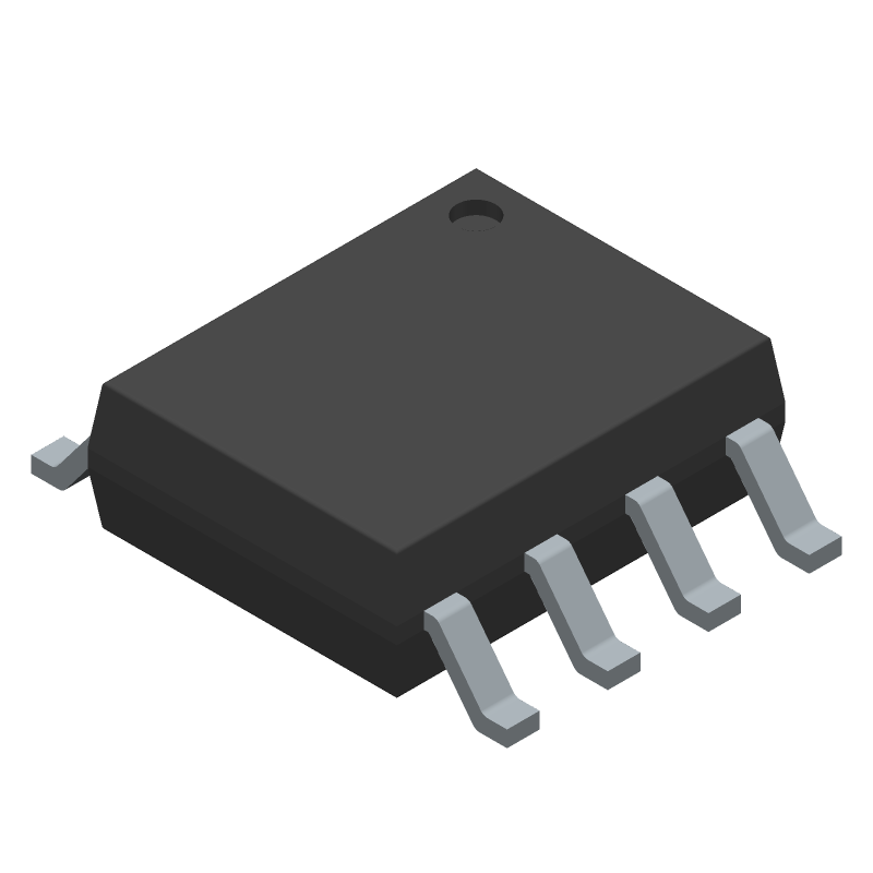 LM22675MRE-5.0/NOPB - Texas Instruments - 3D model - Small Outline Packages - DDA0008B_1