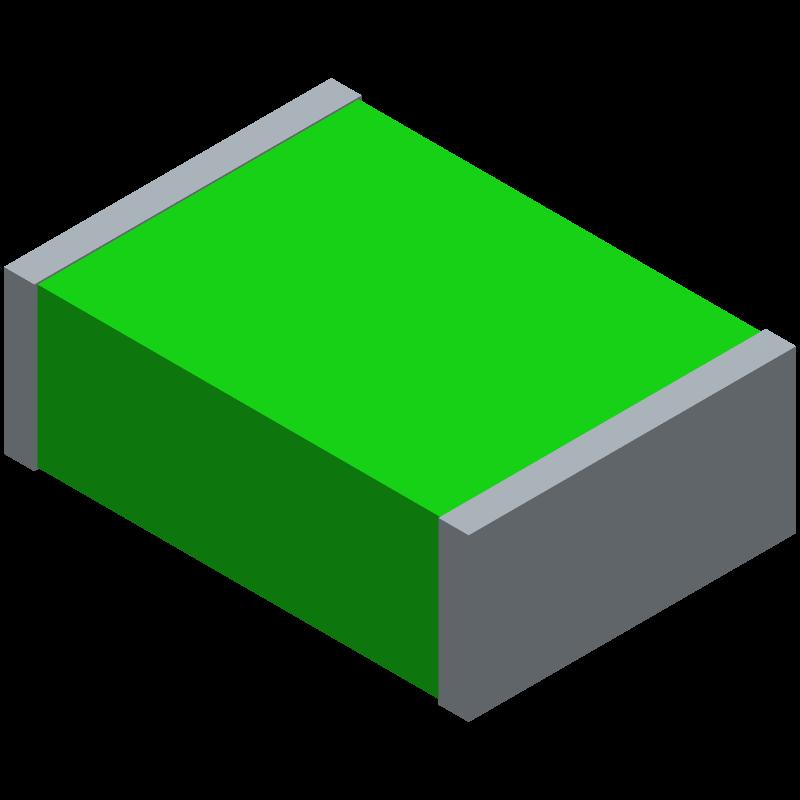 MF-MSMF250/16X-2 - Bourns - 3D model - Fuses Chip - MF-MSMF250