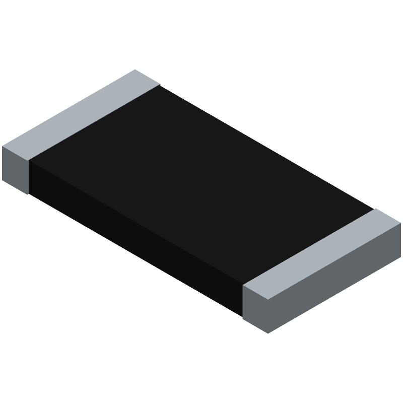CRCW251218R0FKEG - Vishay - 3D model - Resistor Chip - CRCW2512