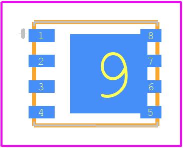 SI7852DP-T1-E3 - Vishay PCB footprint - Other - SI7852DP-T1-E3-3
