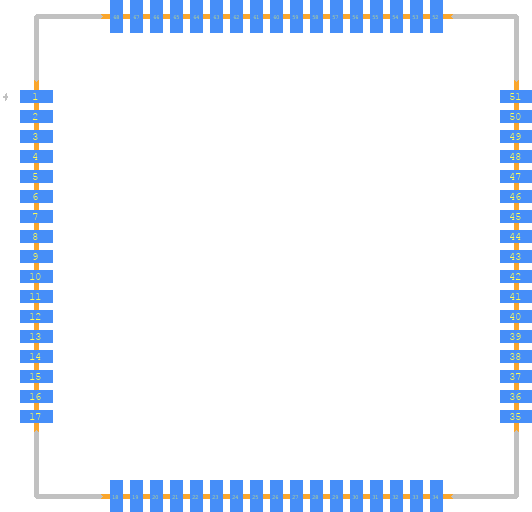 PCB Footprint for SIM808