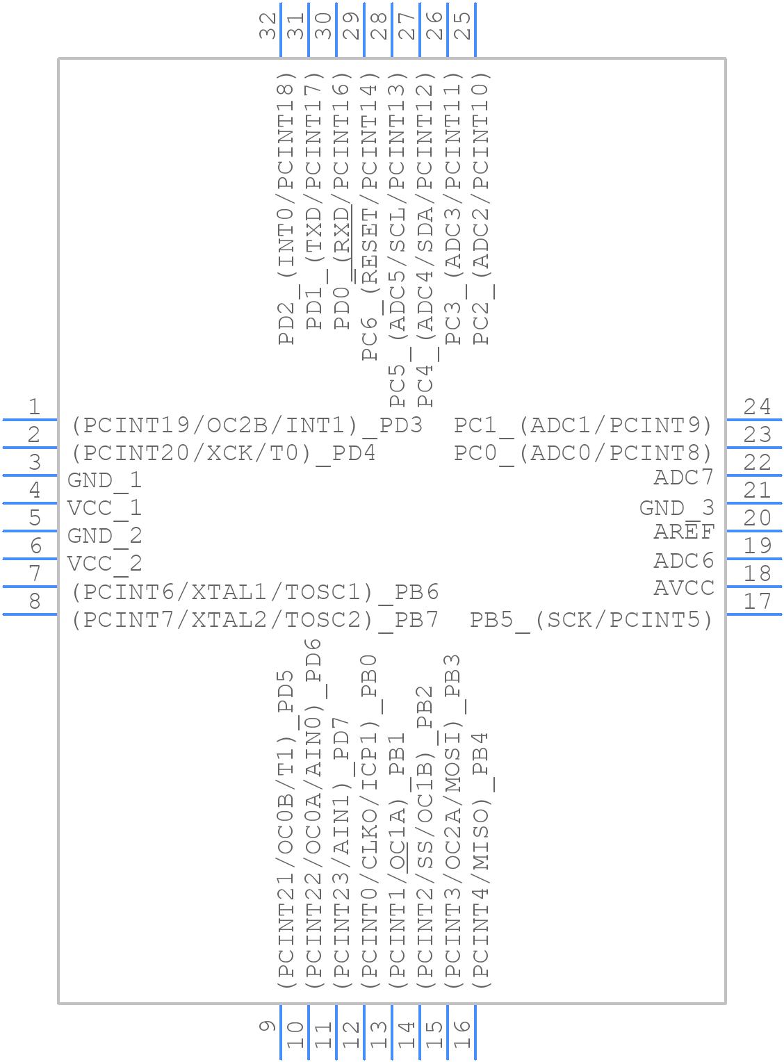 ATMEGA328P-AUR - Microchip Technology Inc   Findchips