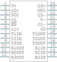 ADM3315EARUZ - Analog Devices - PCB symbol