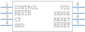 TLC7701ID - Texas Instruments - PCB symbol