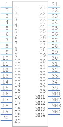 1-776231-1 - TE Connectivity - PCB symbol